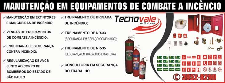 Extintores manutenção em equipamentos em Jacareí