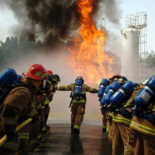 Treinamento de Brigada de Incêndio em Jacareí